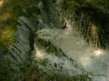 Национальный парк Хорватия озер Plitvice Стоковое Изображение
