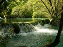 Национальный парк Хорватия озер Plitvice Стоковые Изображения