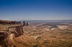 национальный парк Юта canyonlands Стоковое Изображение