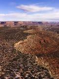 национальный парк Юта canyonlands Стоковые Фото