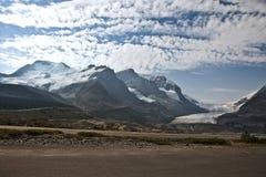 национальный парк яшмы icefield columbia Стоковое Фото