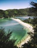 национальный парк abel tasman стоковое фото