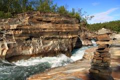 национальный парк abisko Стоковая Фотография RF