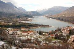 национальный парк abruzzo Италии Стоковое Изображение RF