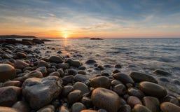 Национальный парк Acadia на восходе солнца стоковое фото rf