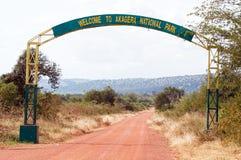 национальный парк akagera стоковое фото rf