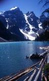 национальный парк banff Канады стоковые изображения rf
