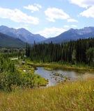 национальный парк banff Канады Стоковая Фотография RF