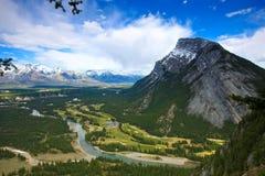национальный парк banff Стоковые Фотографии RF