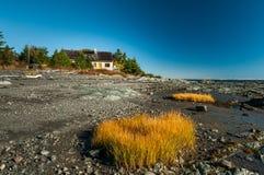 Национальный парк Bic в Квебеке, Канаде стоковые фотографии rf