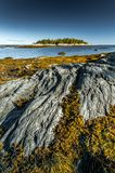 Национальный парк Bic в Квебеке, Канаде стоковая фотография