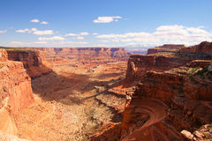 национальный парк canyonlands стоковое изображение
