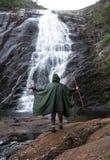 Национальный парк Caparao - водопад Bonita стоковые изображения rf