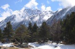 Национальный парк estortes ¼ Aigà дороги Amitges Стоковая Фотография RF