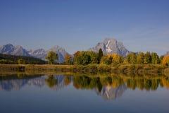 национальный парк grandteton Стоковое фото RF