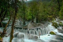 Национальный парк Jiuzhaigou, Китай стоковое изображение rf