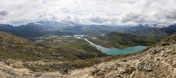 Национальный парк Jotunheimen в южной Норвегии Стоковое Изображение RF