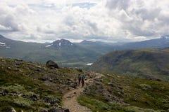 Национальный парк Jotunheimen в южной Норвегии Стоковые Фото