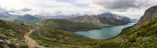 Национальный парк Jotunheimen в южной Норвегии Стоковые Изображения