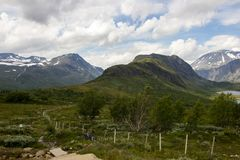 Национальный парк Jotunheimen в южной Норвегии Стоковые Фотографии RF