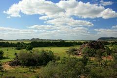 национальный парк kakadu Австралии Стоковое фото RF