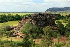 национальный парк kakadu Австралии Стоковые Фотографии RF