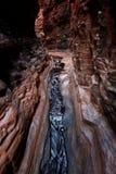 национальный парк karijini hancock gorge Стоковая Фотография RF