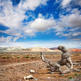 национальный парк kazakhstan emel altyn стоковая фотография rf