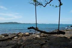 Национальный парк Khao Laem Ya-Mu Ko Samet в Rayong, Таиланде Стоковые Фото