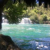 Национальный парк Krka в Хорватии стоковое изображение