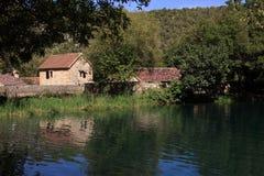 национальный парк krka Хорватии Стоковые Фотографии RF