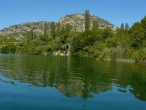 национальный парк krka Стоковые Изображения