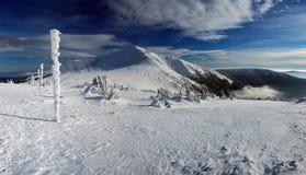 национальный парк krkonose Стоковые Изображения RF