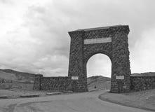 национальный парк roosevelt yellowstone свода Стоковые Изображения