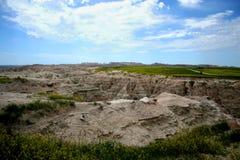 национальный парк sd неплодородных почв Стоковые Изображения
