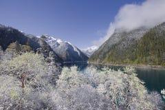 национальный парк sichuan juizhaigou Стоковое Изображение RF