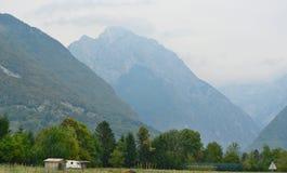 Национальный парк Triglav единственный национальный парк в Словении, положении стоковые изображения