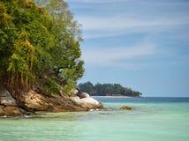 Национальный парк Tunku Abdul Rahman, Борнео, остров Малайзии - Sapi стоковое фото