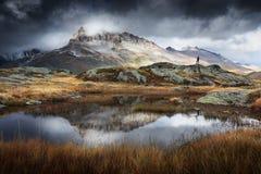 Национальный парк Vanoise в Франции Стоковые Изображения
