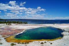 национальный парк yellowstone Стоковое Изображение