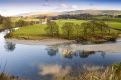 национальный парк yorkshire участков земли Стоковые Изображения RF
