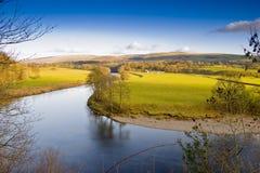 национальный парк yorkshire участков земли Стоковое Изображение