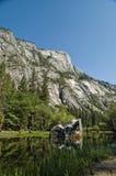 национальный парк yosemite зеркала озера Стоковое Изображение RF