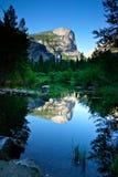 национальный парк yosemite зеркала озера Стоковые Фотографии RF