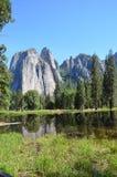 Национальный парк Yosemite, Невада в Северной Америке Стоковое Изображение