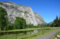 Национальный парк Yosemite, Невада в Северной Америке Стоковые Фотографии RF