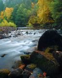 национальный парк yosemite падения Стоковые Изображения