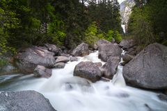 Национальный парк Yosemite национальный парк Соединенных Штатов Стоковое Фото