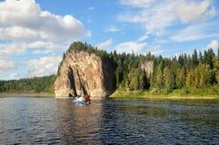 Национальный парк Yugyd VA, место ЮНЕСКО Стоковая Фотография RF