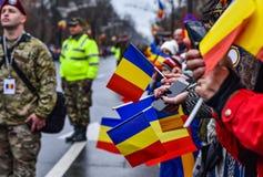 Национальный праздник Румынии, 1-ое декабря 2017 Стоковое Фото